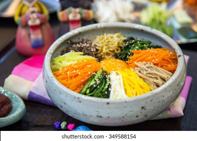 Rice Korean food