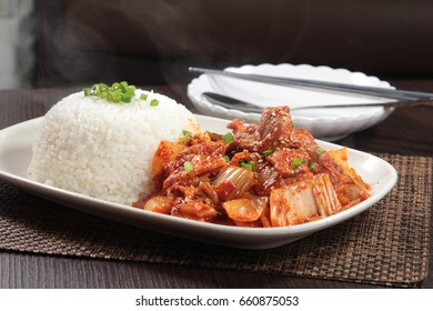 rice with meat