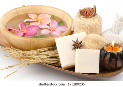 Rice milk soap. Produced from natural raw materials.