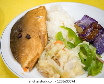 rice with milkfish