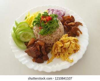 rice mixed eith shrimp paste, kao kluk gapi