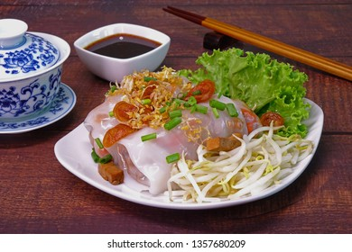 Rice noodle roll (or steamed rice roll) is a Cantonese dish from southern China and Hong Kong, commonly served either as a snack, small meal or as a variety of dim sum. Famous Chinese / Cantonese food