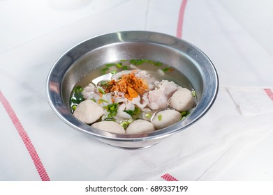 rice noodles thailand food