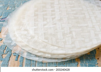 Rice paper for spring rolls