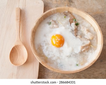 Rice porridge for breakfast