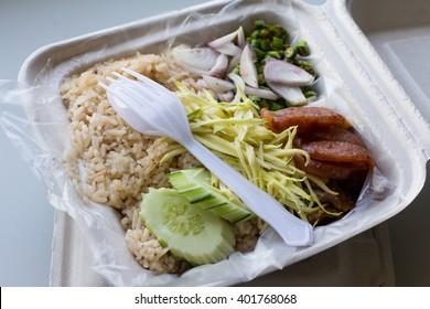 Rice recycling box