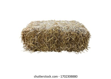 Rice straw isolated with clipping paths.