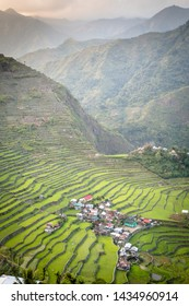 Rice terraces in Banaue Phillipines