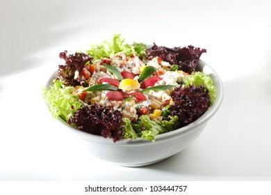 rich creamy salad