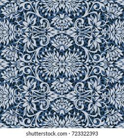 rich paisley wallpaper authentic floral geometric pattern