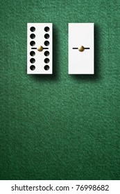 The rich and the poor. Domino game