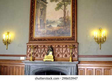 Rich rare luxury interior