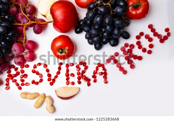 Rich Resveratrol Food Raw Food Ingredients Stock Photo Edit Now 1225283668