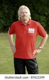Richard Branson at the launch of the Virgin Active London Triathlon celebrity team, Acton, London. 07/06/2011  Picture by: Steve Vas / Featureflash