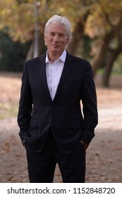 Richard Gere 14 December 2015    Italy, Rome, Casa del Cinema, Villa Borghese    Photocall 'Franny' a Andrew Renzi Film with Richard Gere
