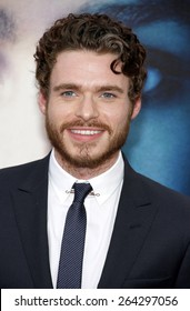 """Richard Madden at the HBO's third season premiere of """"Game of Thrones"""" held at the TCL Chinese Theater in in Los Angeles, United States, March 18, 2013."""