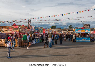 RICHMOND, BRITISH COLUMBIA - May 22, 2016: Since 2000, the Richmond Night Market has grown into the largest Night Market in North America, attracting over 1 million visitors per year.