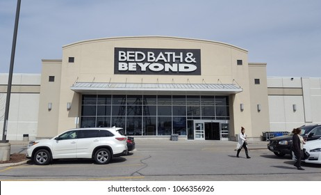 RICHMOND HILL, CANADA - APRIL 9, 2018: A Bed Bath & Beyond store in Richmond Hill, Canada.