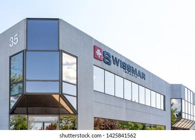Richmond Hill, Ontario, Canada - June 03, 2019: Swissmar Head Office in Richmond Hill, Canada. Swissmar is a leading distributor of European housewares and cookware.