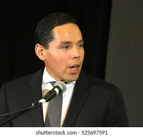 RICHMOND HILL, ONTARIO - JULY 11, 2016: Natan Obed is president of the Inuit Tapiriit Kanatami, an organization that represents 60,000 Inuit in Canada.