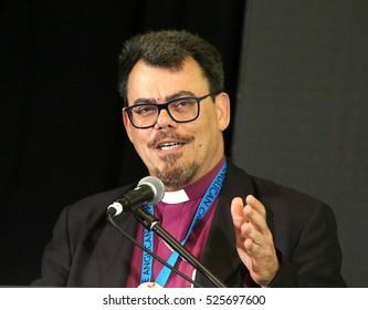 RICHMOND HILL, ONTARIO - JULY 11, 2016: Archbishop Francisco de Assis da Silva is primate of the Episcopal Anglican Church of Brazil.