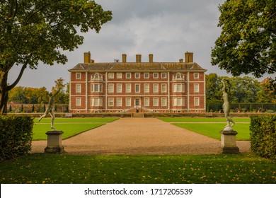 Richmond, London, UK-September 27 2017: Ham House is one of the great Stuart houses. Originally built in 1610.