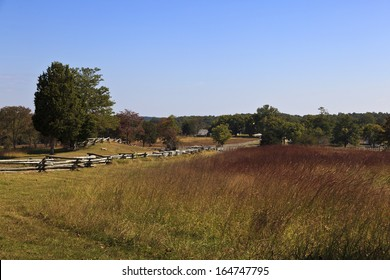 The Richmond Lynchburg stage road at Appomattox Court House historic village, the Civil War surrender site.