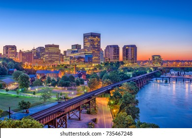 Richmond, Virgina, USA downtown skyline.