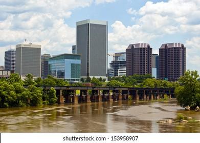 Richmond, Virginia and James River