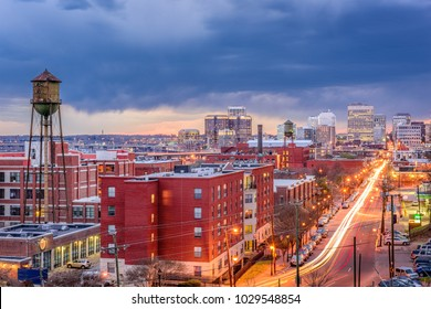 Richmond, Virginia, USA downtown cityscape.