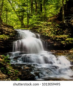 Ricketts Glen harbors Glens Natural Area, a National Natural Landmark