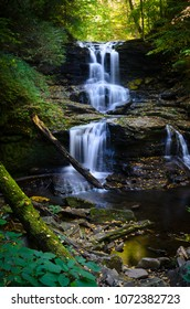 Ricketts Glen State Park Waterfall