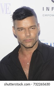 Ricky Martin honor Hurricane Victims in Puerto Rico at October Issue Debut at Wall at W South Beach in Miami Beach on October 10th, 2017