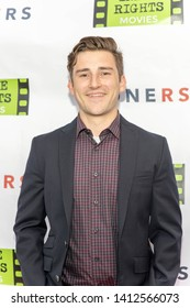 """Ricky Oakley attends """"Loners"""" Los Angeles Premiere at Ahrya Fine Arts by Laemmle, Beverly Hills, CA on May 30, 2019"""