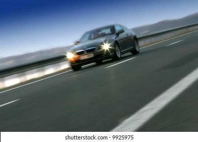 Ridden car