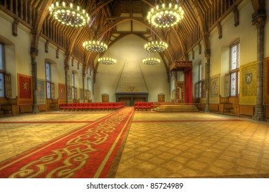Ridderzaal, or Hall of Knights in The Hague, Holland
