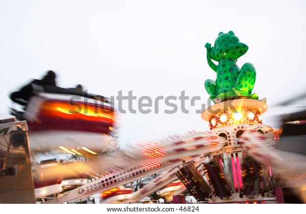 A ride at an English funfair.