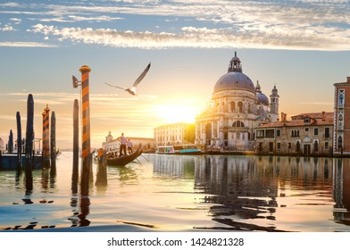 Ride on gondolas along the Grand Canal in Venice, Italy