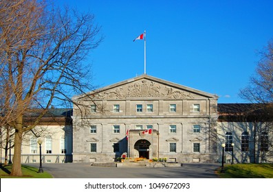 Rideau Hall in downtown Ottawa, Ontario, Canada.