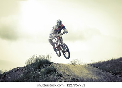 rider in action