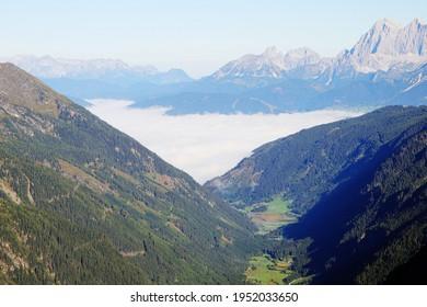 Riesach valley in Wild Wasser Natural park in Austria - Shutterstock ID 1952033650