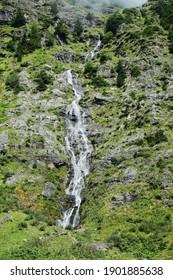Riesach waterfall in Wild Wasser Natural park in Austria - Shutterstock ID 1901885638