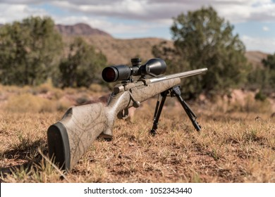 Rifle Hunting Outdoors