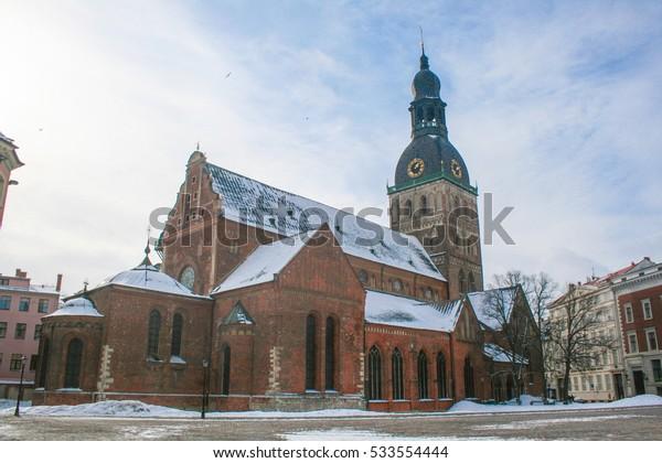 Riga Cathedral (Dome) in Riga. Latvia