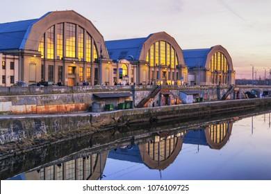 Riga Central Market, is Europe's largest bazar using old German Zeppelin hangars