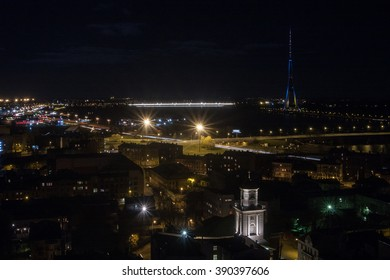 Riga City night views