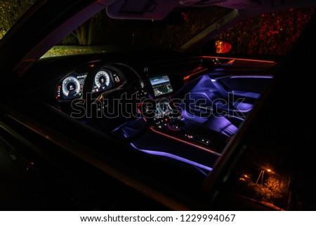Riga Latvia 14 November 2018 Audi Stock Photo Edit Now 1229994067