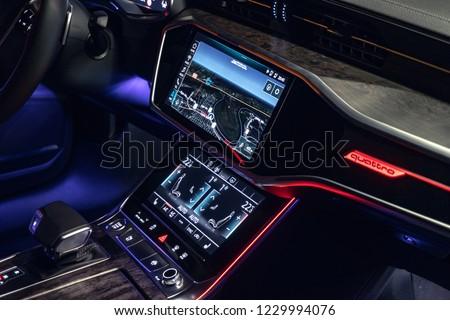 Riga Latvia 14 November 2018 Audi Stock Photo Edit Now 1229994076