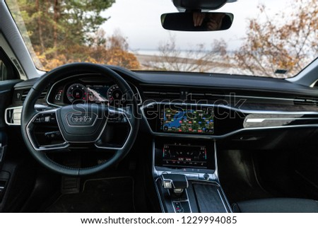 Riga Latvia 14 November 2018 Audi Stock Photo Edit Now 1229994085