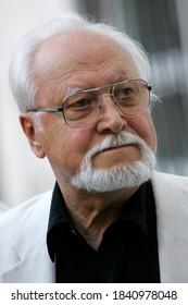 Riga, Latvia - September 15, 2006: Latvian film director Janis Streics